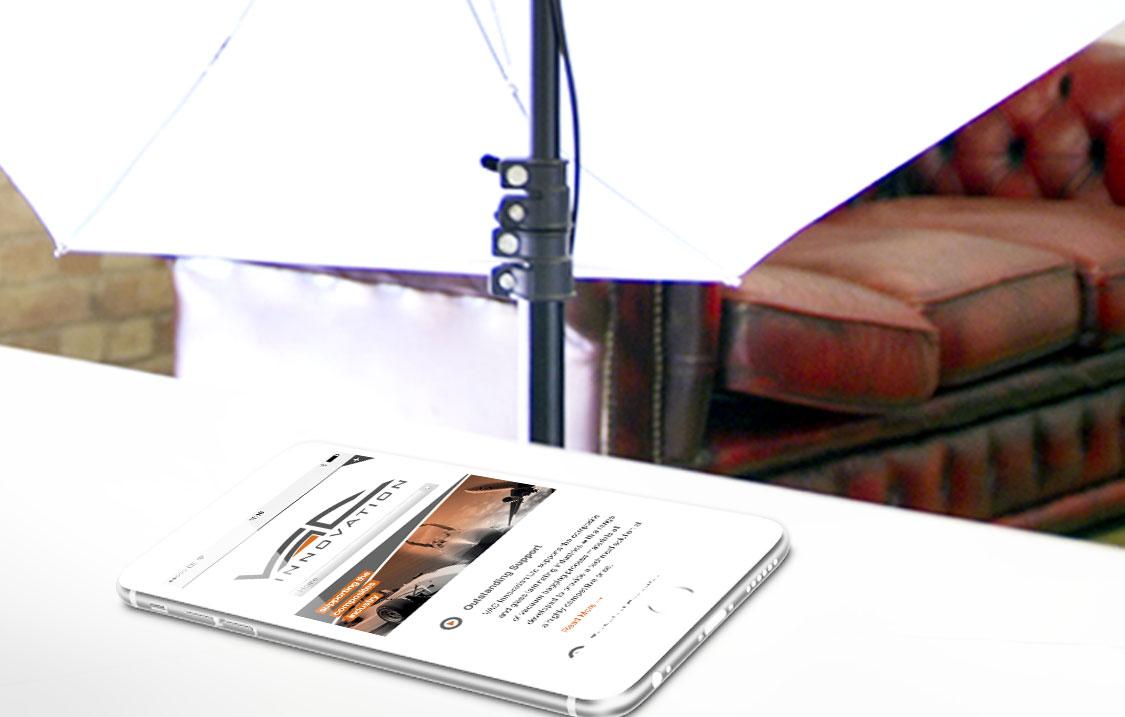 b2b-mobile-website