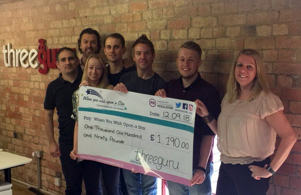 Midlands creative agency cheque